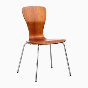 Teak Nikke Dining Chair by Tapio Wirkkala for Asko, 1950s