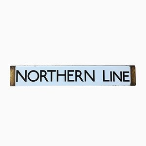 London Underground Northern Line Sign, 1938