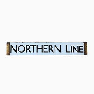 Londoner Northern Line Tube-Schild, 1938