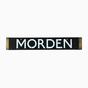 London Underground Morden, High Barnet Sign, 1938