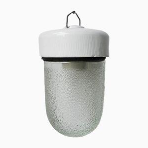 Vintage Deckenlampe aus Porzellan