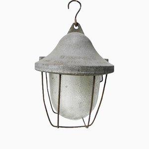 Lámpara colgante vintage de metal, años 60
