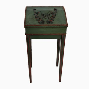 Antique Side Table with Storage, 1873