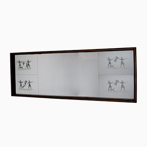 Specchio Art Déco, anni '40