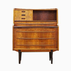 Vintage Rosewood Secretaire by Gunnar Falsig for Møbelfabrik Holstebro