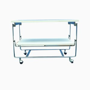 Stainless Steel Bar Cart by Horst Brüning for Kill International, 1960s