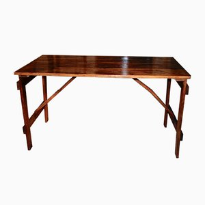 Vintage Oak Worktable