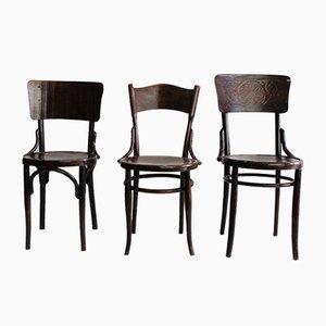 Chaises de Salle à Manger ou d'Appoint Vintage, Set de 3