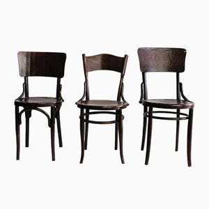 Vintage Side Chairs, Set of 3