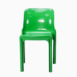 Selene Stuhl von Vico Magistretti für Artemide, 1960er