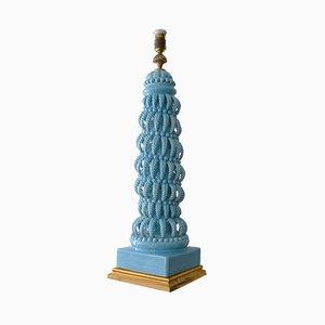 Lampada Manises vintage in ceramica