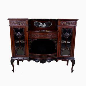 Mueble victoriano antiguo esmaltado