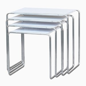 R8 abcd Nesting Tables by Kovonax for SLEZAK Factories, Set of 4
