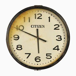 Horloge d'Usine de Citizen, Japon, 1950s
