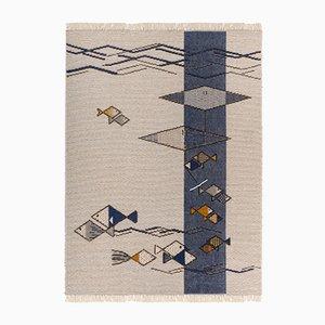 Mediterraner Teppich von Paulina Herrera für Mariantonia Urru