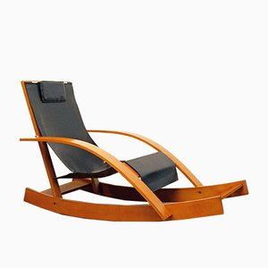 G27 Chaise Longue Rocking Chair by Werter Toffoloni for Germa, 1970s