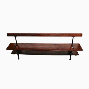 Pine Reversible Station Bench from C.M.Hammer London, 1880s
