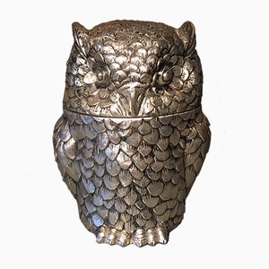 Italian Owl Ice Bucket by Mauro Manetti, 1970s