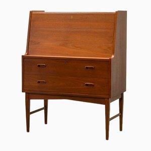 Schwedischer Mid-Century Schreibtisch & Schrank aus Eichenholz, 1960er