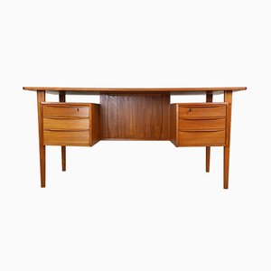 Scandinavian Writing Desk by Peter Løvig Nielsen for Dansk Design, 1960s