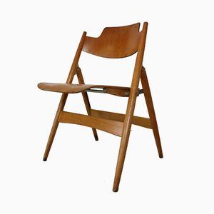 Vintage SE-18 Folding Chair by Egon Eiermann for Wilde+Spieth, 1948
