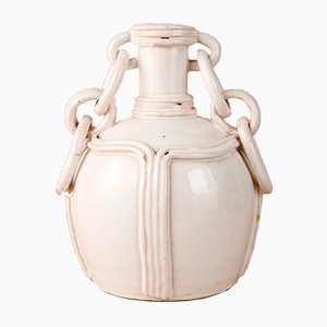 Vase by Emile Tessier for Faïence de Malicorne, 1900s