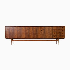 Large Mid-Century Rosewood Sideboard