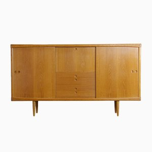 Mid-Century Danish Oak Sideboard by H.W. Klein for Bramin
