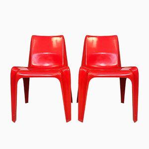 BA 1171 Stühle aus Glasfaser von Helmut Bätzner für Bofinger, 1960er, 2er Set
