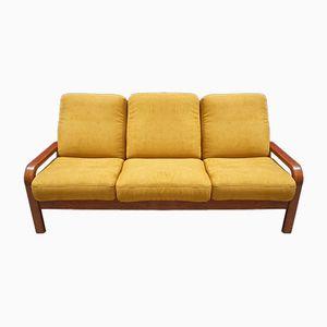 Teak 3-Seater Sofa by Juul Kristensen for Preben Schou, 1970s