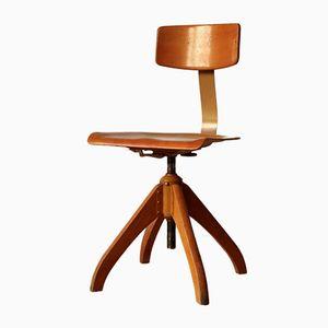 Model 350 Industrial Swivel Chair from Ama Elastik, 1950s