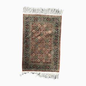 Vintage Silk Rug, 1980s