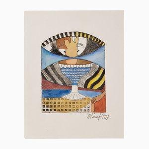 La Habana Engraving by Finalé Moisés, 1997