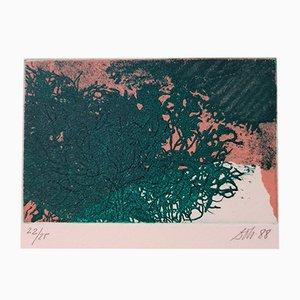 Radierung von Pilar Dolz, 1988