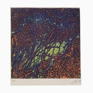 Artist's Proof Radierung von Pilar Dolz, 1989