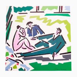 Le déjeuner sur l'herbe Print by Rosa Torres, 1995