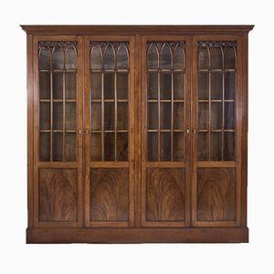 19th-Century Mahogany Bookcase, 1820s