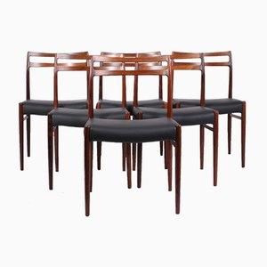 Modell 146 Esszimmerstühle von Alf Aarseth für Gustav Bahus, 6er Set