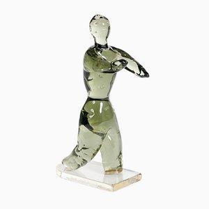 Murano Glass Sculpture by Renatro Anatrà, 2000s