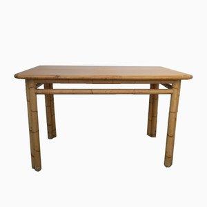 Tavolo in bambù, anni '70
