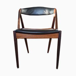 Chaise de Salle à Manger N°31 en Palissandre par Kai Kristiansen pour Schou Andersen, 1960s