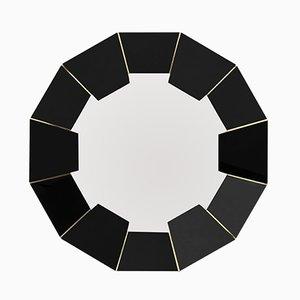Miroir Darian Noir de Covet Paris