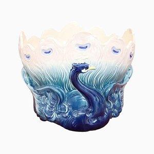 Art Nouveau Ceramic Cachepot Vase by Hector Guimard for Sevres