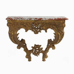 18th-Century French Gilt Console Table