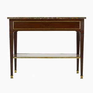 Antique French Mahogany Console Table
