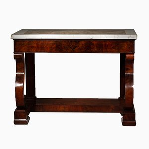 Antique Mahogany Console Table, 1820s