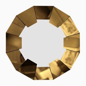 Specchio Dorian dorato di Covet Paris