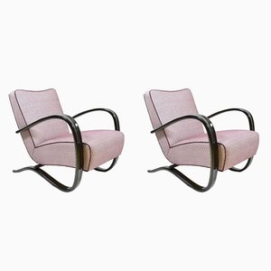 Vintage H-269 Armchairs by Jindrich Halabala for Thonet, 1930s, set of 2