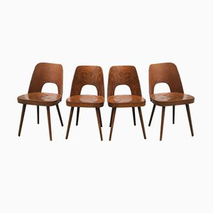 Chairs by Oswald Haerdtl for Thonet, 1950s, Set of 4