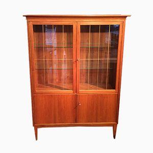 Model 409 Glass Cabinet Showcase from VEB Deutsche Werkstätten, 1957